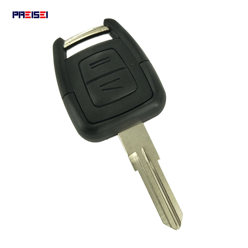 PREISEI 2 Button Replacement <font><b>Remote</b></font> Car <font><b>Key</b></font> Shell For Vauxhall <font><b>Opel</b></font> Vectra <font><b>Astra</b></font> Zafira Omega J Insignia <font><b>G</b></font> Mk4 <font><b>Key</b></font> Case YM28 image