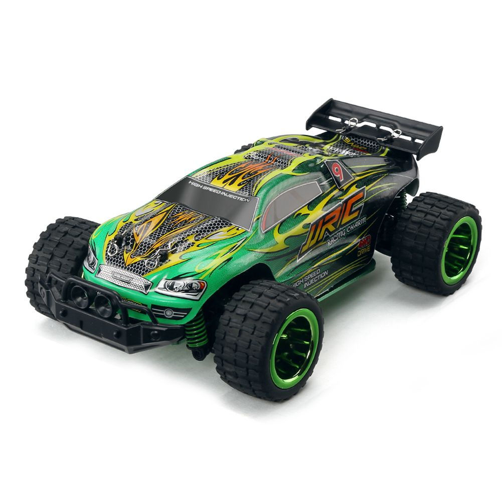 JJRC Q36 RC Car 4CH 4WD 30KM/H Driving Car 1: 26 Remote Control Model Off-Road Vehicle Toy For Children(Green) jjrc q36 rc car 4ch 4wd 30km h driving car 1 26 remote control model off road vehicle toy for children blue