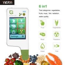 Detector portátil da água e da radiação do nitrato para o alimento, carne, verificador do nitrato de peixes, tds da água, detector da radiação/cuidados médicos