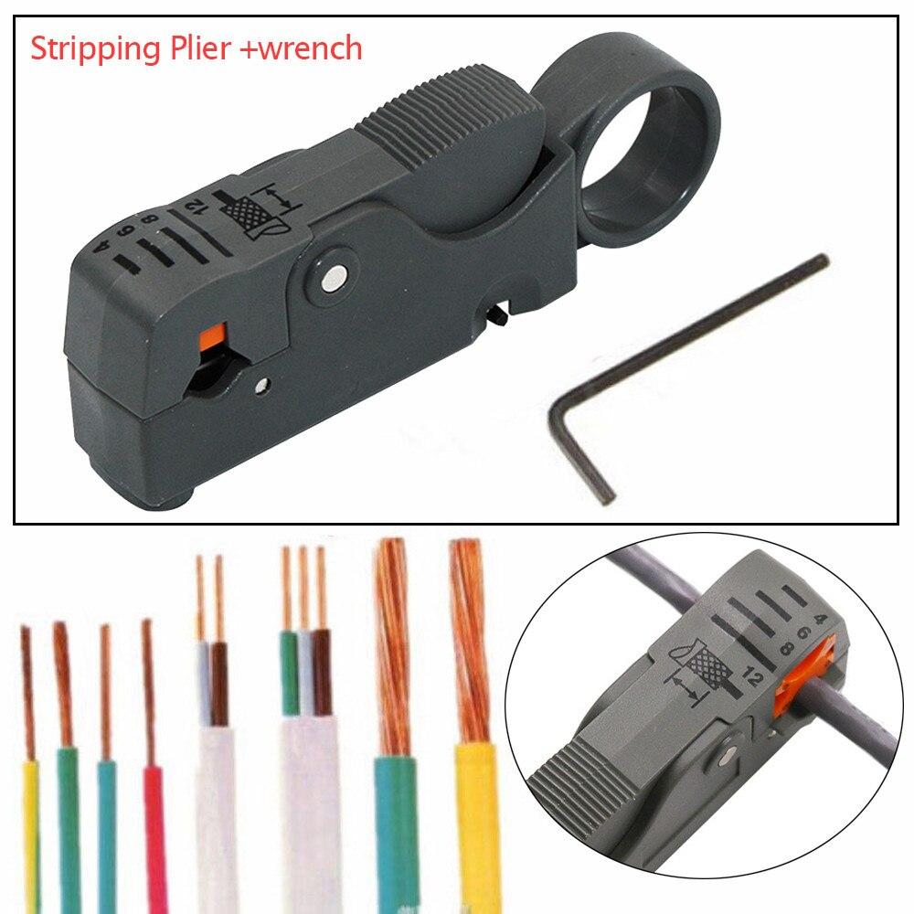 FleißIg Automatische Abisolieren Zange Kabel Stripper Werkzeuge Doppel Klingen Stripped Draht Freien Handwerkzeuge Multifunktions 100x30x18mm #0 Handwerkzeuge Werkzeuge