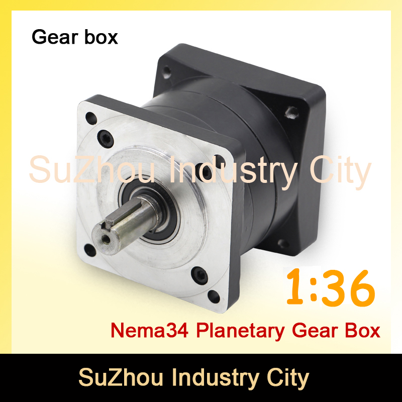1:36 Nema34 stepper Motor Planetary Reduction Ratio 36:1 planet gearbox 86 motor speed reducer, High Torque high quality !! цена и фото