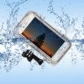 Deportes al aire libre a prueba de agua teléfono case cover para iphone 6/6 s 4.7 Pulgadas Accesorios Gopro con 170 Grados de Ángulo Ancho Lente de La Cámara
