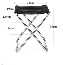 AOTU Lightweight Folding Fishing Chairs Aluminum Alloy Square Sketchbook Outdoor Chair Camping Stool For Picnic BBQ Beach Chair