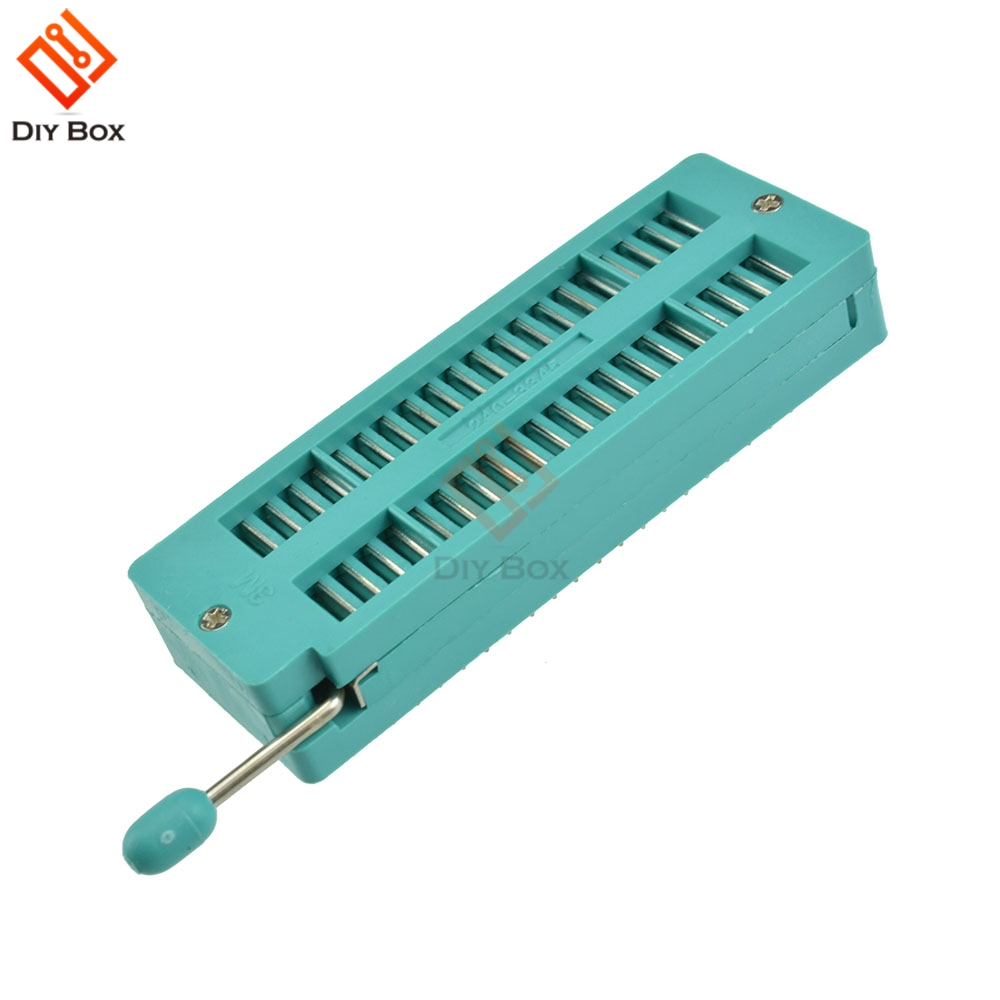 Cikuso Universel 40 broches ZIF DIP IC Socket de test