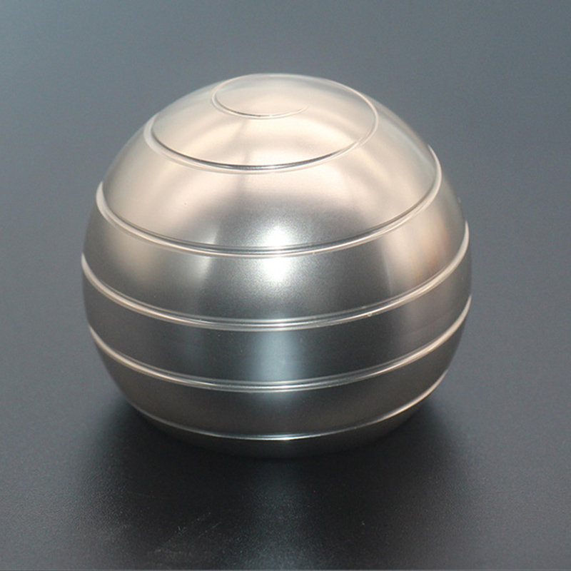 Metal Spinner Gyro Decompression Kinetic Fingertip Hypnosis Toy Relief-Toy Aluminum-Alloy img2