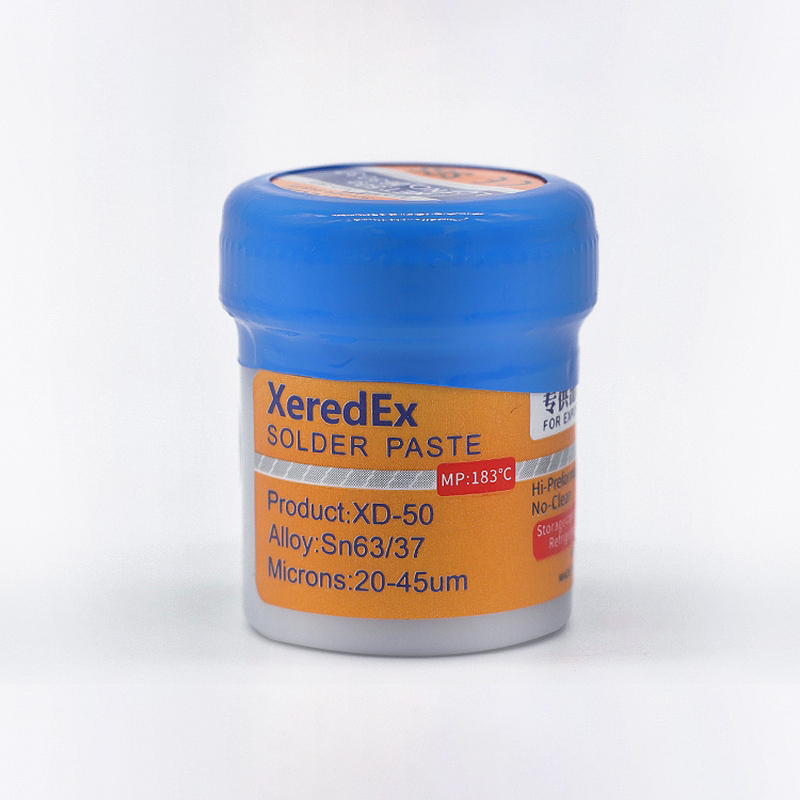 100% Original Mechanic Solder Paste Original HK MECHANIC XG-50 Sn63/Pb37 For Soldering Iron Station Flux Repair Tool