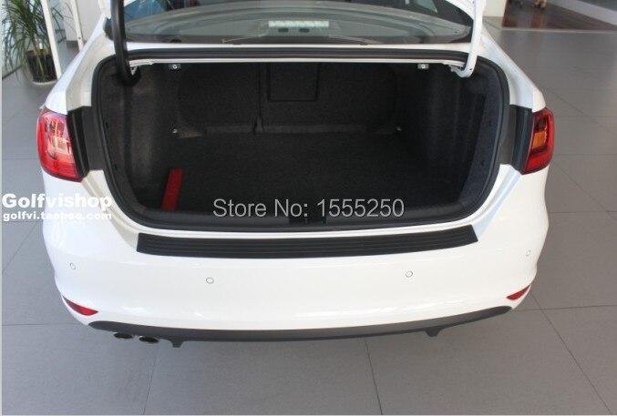 Авто задний бампер резиновый протектор для volkswagen vw Golf 7 jetta Golf 6, passat, bora, Skoda Octavia Fabia, superb