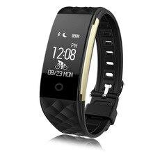 2017 Последним в Исходном S2 Умный Браслет Smartwatch Heart Rate Monitor Уведомление Спорта GPS Трекер Удаленной Камеры Анти-потерянный Смарт