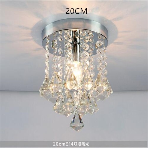 Ceiling Lights Honest Led Crystal Led Chandelier Crystal Stainless Steel Crystal Lights Brief Living Room Lamps Circle Lighting Including Bulb Lights & Lighting