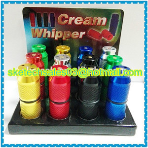 Image 5 - 100pcs SK110/SK300/SK400 Cream Charger Cracker Dispenser Wholesale Aluminum nos Cracker for Nitrous Oxide 8g N2O Laughing Gas
