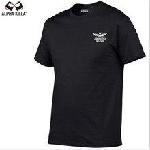 2018 Summer Aeronautica Militare Man T shirt Brand Clothing Print Air Force One Tees 100