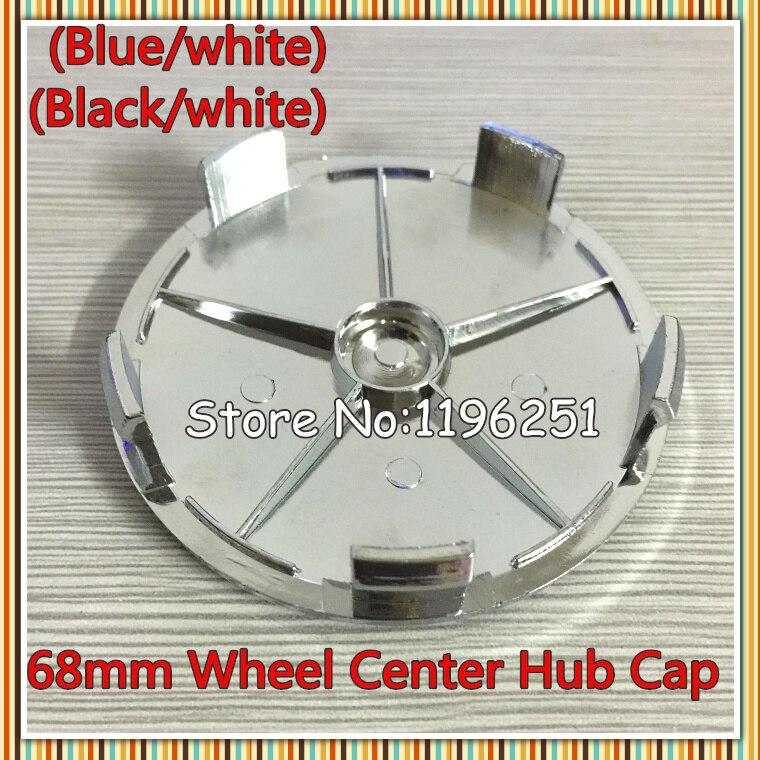 100pcs 68mm Wheel Centre Caps Blue Black Emblem E40 E36 E39 E46 E45 E90 316 318 M3 Z4 X5 Series 1 by DHL Shipping in Wheel Center Caps from Automobiles Motorcycles
