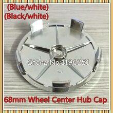 100pcs 68mm Wheel Centre Caps Blue Black Emblem E40 E36 E39 E46 E45 E90 316 318 M3 Z4 X5 Series 1 by DHL Shipping dhl page 1