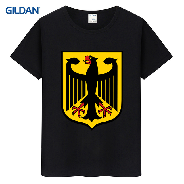 Deutschland German Flag Crest Germany Eagle Harajuku T Shirt - T shirt print out template