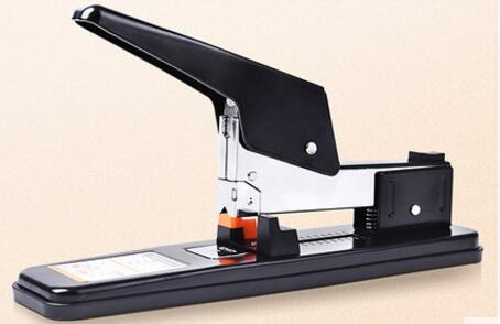 Stapler large - sized heavy - duty and thick layer stapler office supplies sewing stapler to save effort binding large size binding machine heavy duty stapler reduced effort book sewer stapling machine 140 sheets capacity for office work school home