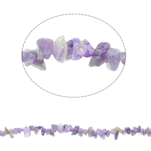 Natural Beads for making diy Jewelry Bracelet Chips February Birthstone 5-8mm Approx 260PCs/Strand Approx 33 Inch