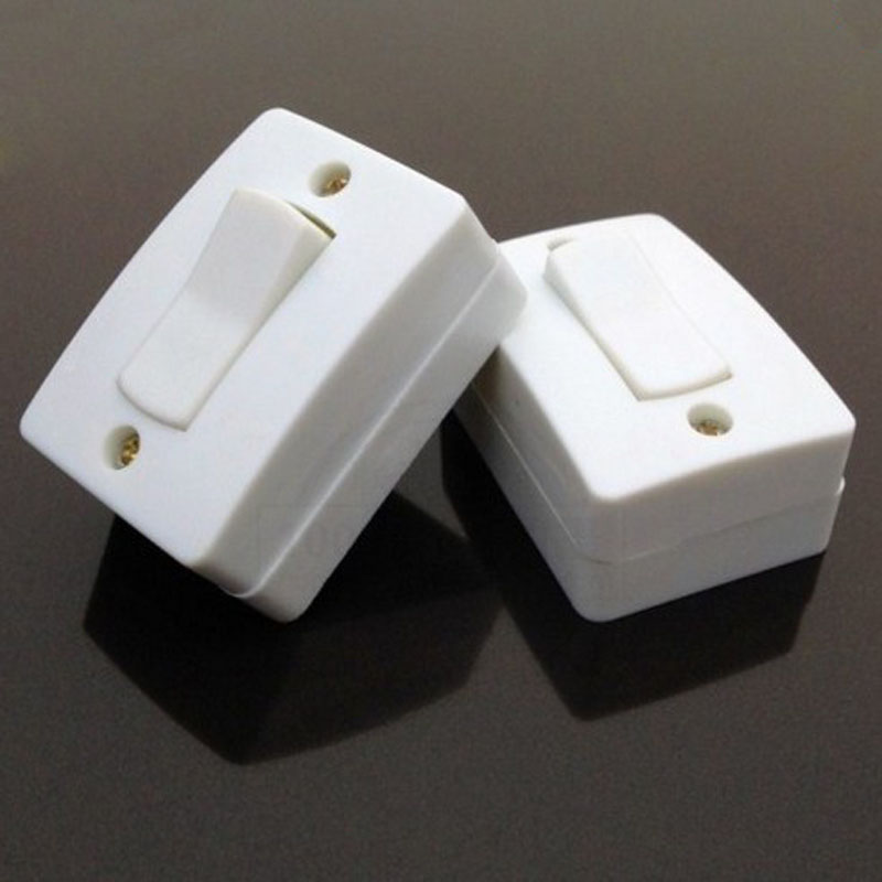 20pcs Rocker Plate Wall Switches Push Button Switch