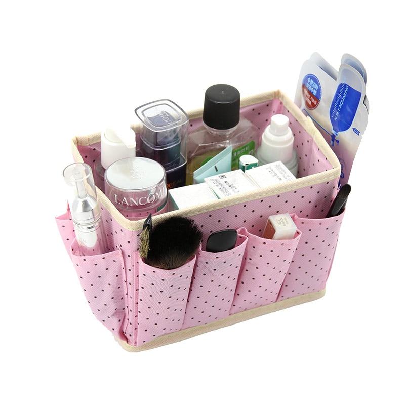 Travel Girl Makeup Box Cosmetic Bags Toiletry Kit Organizer Storage Box Ladies Organiser Multi Functional Women Cosmetic Bags multi functional stripes three lattice storage hang bags