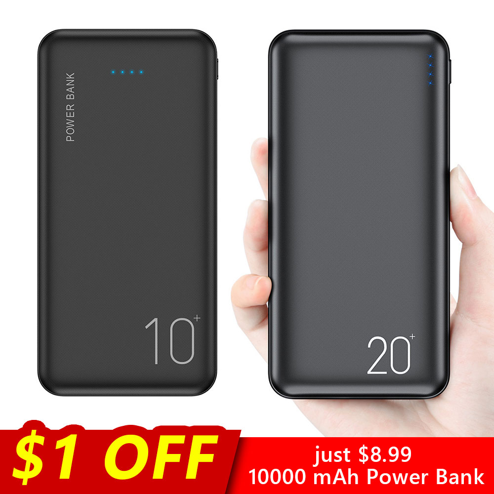 FLOVEME Power-Bank External-Battery-Charger Phone Portable Charging Xiaomi 20000mah Samsung