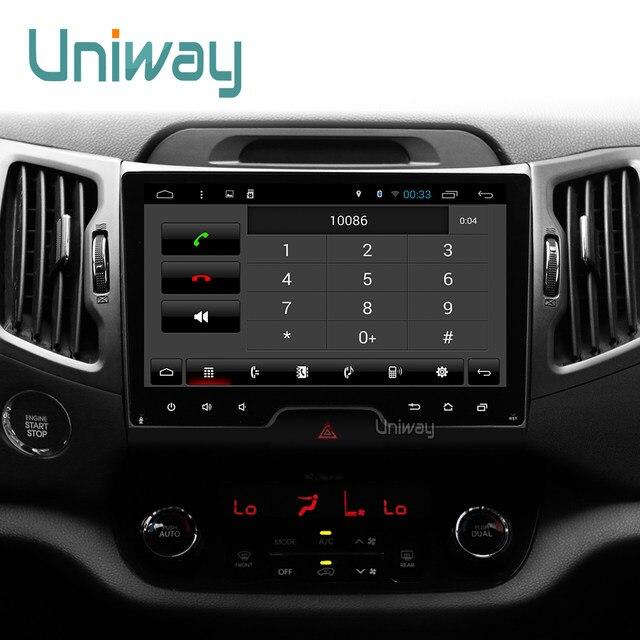online shop uniway azp9071 android 7 1 car dvd for kia sportage 2014 rh m aliexpress com Used Kia Sportage 4x4 Used Kia Sportage 4x4