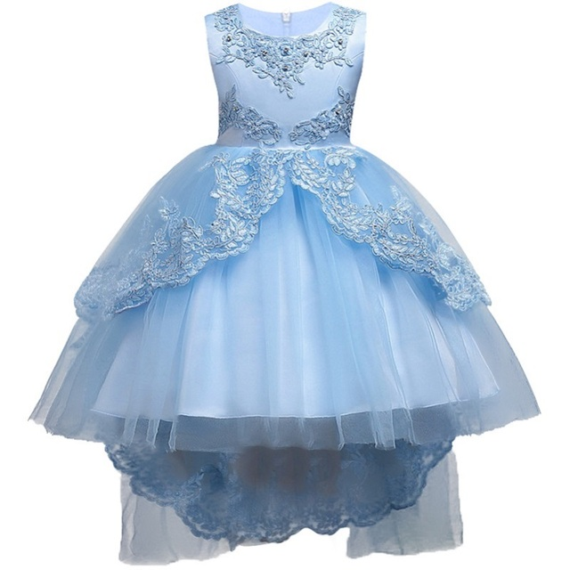 Hot Summer Flower Girls Dress For Wedding And Party Infant Princess ...