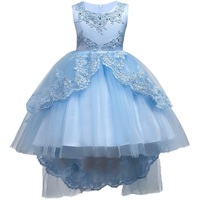 Hot Summer Flower Girls Dress For Wedding And Party Infant Princess Girl Dresses Toddler Costume Baby