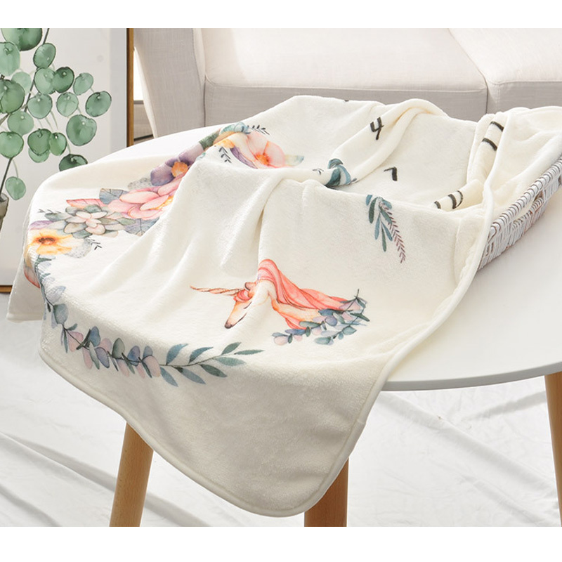Baby Milestone Blankets Swaddle Wrap Bathing Towels Flower Printed Cute Soft Blanket DIY Infant Kids Newborn Photography Props in Blanket Swaddling from Mother Kids
