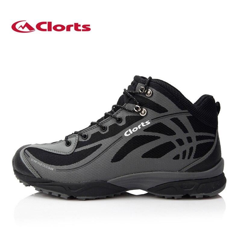 Clorts/непромокаемые высокие походные ботинки, дышащие зимние горные ботинки для мужчин, нескользящая обувь для туризма 3B026