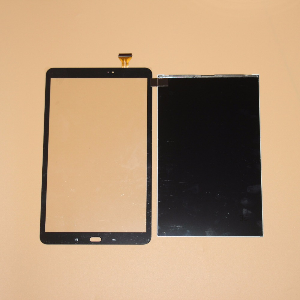 Touch LCD For Samsung Galaxy Tab A T580 T585 SM-T580 SM-T585 Touch Screen Digitizer Glass+LCD Display Replacement Parts Black unitek белый usb30 2 м