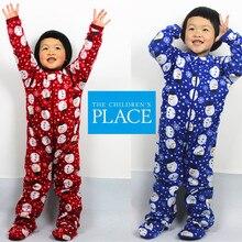 Детская одежда для сна флисовый комбинезон, детский комбинезон, нижнее белье осень-зима, для детей от 4 до 8 лет, Детский комбинезон для ног