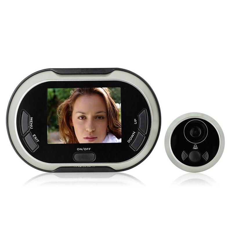 3.5 pouces 170 degrés grand Angle judas TFT LCD numérique porte visionneuse sonnette caméra de sécurité Cam