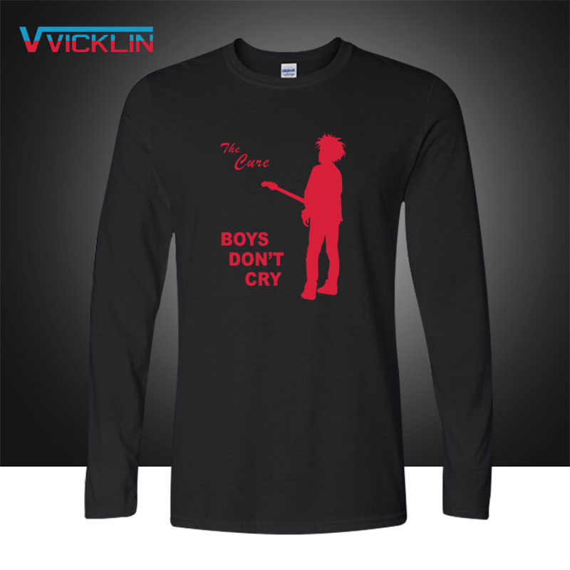 fdadc3f1c Autumn Fashion The Cure Men T Shirts Rock And Roll Casual New Printed BOYS  DO NOT
