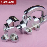 Rarelock Cold Storage Lock Oven Locks Pig Iron Handle for Cabinet Equipment Spring Lock DIY Hardware Accessory a