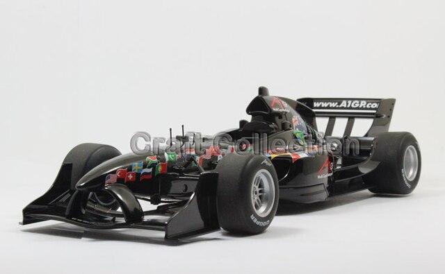 * Negro AUTOart 1:18 A1 GP 2007 Racing Car Diecast Car Model