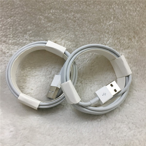Image 4 - 10pcs/lot Original 2m/6FT E75 Chip OD 3.0mm 100% Data USB Cable For Foxconn 5S 6 6s 7 7plus 8 8pl With retail box