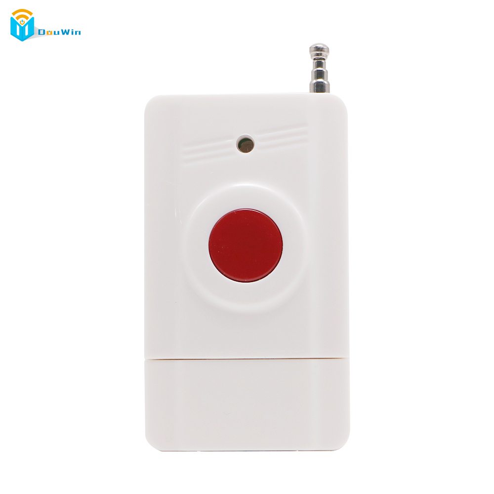 Remote Control Button Key RF Transmitter Wireless emergency button 315/433.92 call Button Panic Button from DouWin