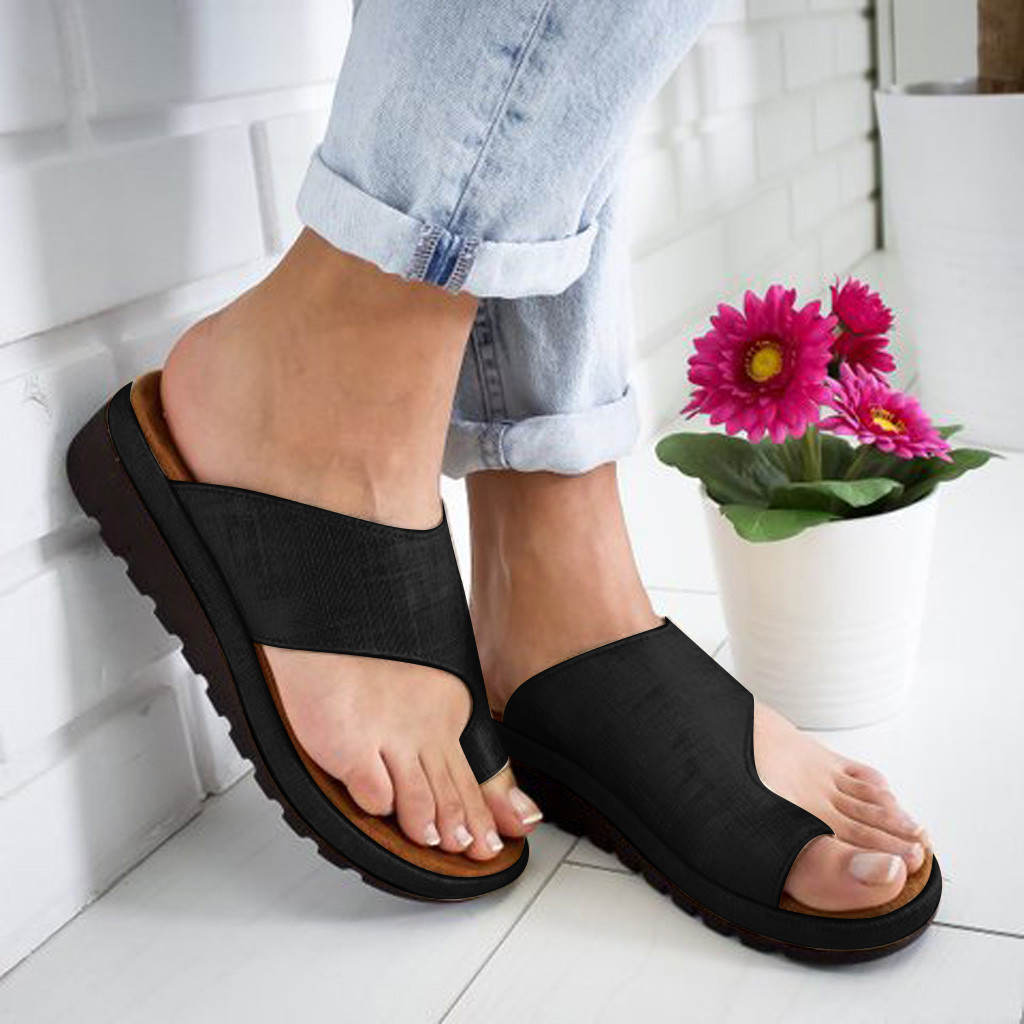 Shoes Women Summer Fashion Flats Wedges Open Toe Ankle Fashion Solid Beach Shoes Roman Sandals Indoor Outdoor Style #T08Shoes Women Summer Fashion Flats Wedges Open Toe Ankle Fashion Solid Beach Shoes Roman Sandals Indoor Outdoor Style #T08