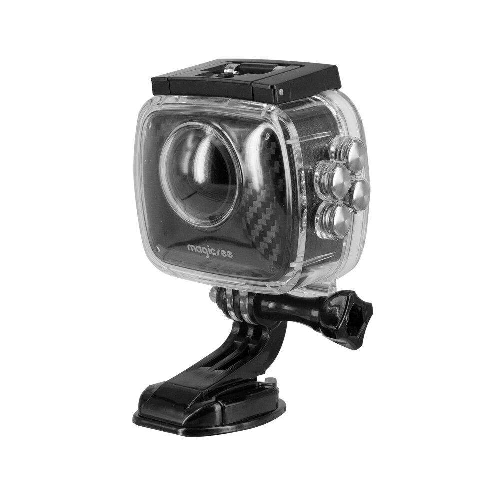 Magicsee P3 Sport Action caméra 360 Caméra Double Lentille boîtier étanche