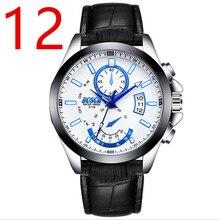 Новые мужские деловые кварцевые часы в 2018, простой и fashionable.83