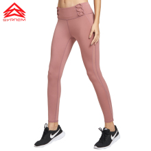 SYPREM Yoga Pants Women Mesh High Waist Pink Leggings For Sports Elastic New Sexy Girls Leggings,18FP3019