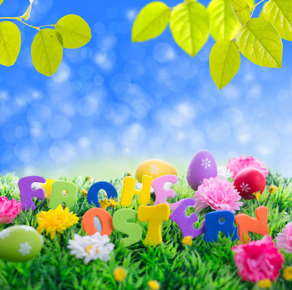 10x10ft Easter Theme Vinyl  Photography Backdrops Props Photography Studio  Background  FH-50 shengyongbao 300cm 200cm vinyl custom photography backdrops brick wall theme photo studio props photography background brw 12