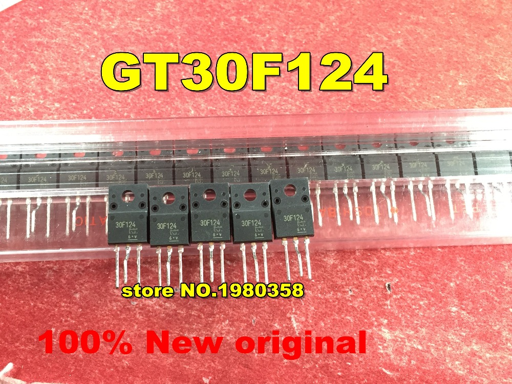 Free shipping   50pcs 100pcs GT30F124 30F124 TO 220 New original-in Replacement Parts & Accessories from Consumer Electronics    1
