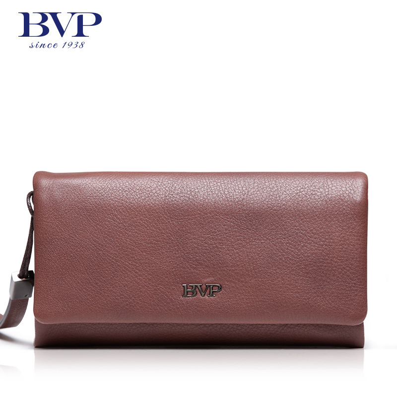 BVP Brand Desinger Genuine Leather Men Clutch Bag Business Large Capacity Male Clutch Wallet Multifunction Handbag Long Purse 25 2017 luxury brand men clutch cowhide wallet genuine leather hand bag classic multifunction mens high capacity clutch bags purses
