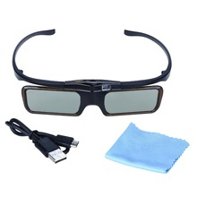 Black and Blue Color Hindotech MX30-DLP Active Shutter Glasses For Optoma for LG for Acer DLP-LINK DLP Link 3D cheap HINDOTECH HD None Immersive Binocular 96-144Hz 3 7V 65mAh rechargeable Li-ion battery 1000 1