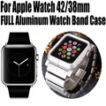 Cubierta al por menor para apple watch aluminio lynk reloj pulsera banda de muñeca protectora case para apple watch 42mm 38mm n °: AW04