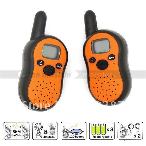 2*LCD Auto Multi-Channels Radios Walkie Talkie Interphone Intercom Transceiver set T-2101 #3087