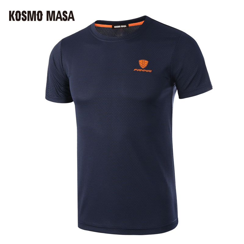 KOSMO MASA 2019 Mens Quick Dry Breathable   T  -  Shirt   Spring Summer Fitness Short Sleeve TShirt Men Plus Size Jersey   T     Shirts   MC0278