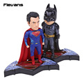 DC Comics Superman Man of Steel / World's Finest Batman PVC Action Figure Collectible Model Toy 13cm