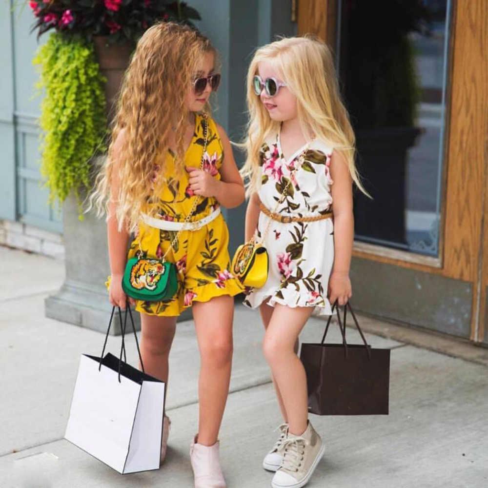 2019 เสื้อผ้าเด็กฤดูร้อน O - Neck เสื้อยืดเด็ก l แขนสั้นเสื้อยืด Tops + กางเกงขาสั้นชุดชุด