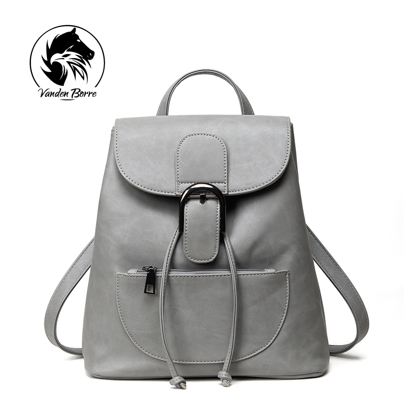 2016 Brand new Fashion PU Leather Backpack Women Bags Preppy Style Backpack Girls School Bags Zipper Shoulder Women's Back Pack 2015 new fashion designer genuine leather brand ladies preppy style women backpack school backpack women shoulder wnb069
